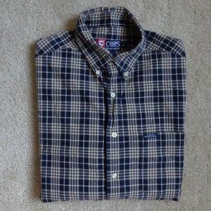 CHAPS Ralph Lauren Men's Long Sleeve Plaid Shirt
